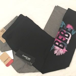 Bebe Sport and Reebok Athletic Capri